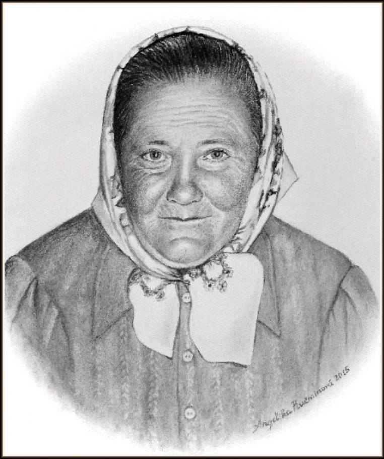 Babka z dediny A3, uhlík