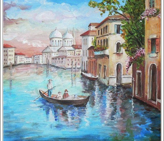 Maľby predaj a tvorba obrazov - MESTO