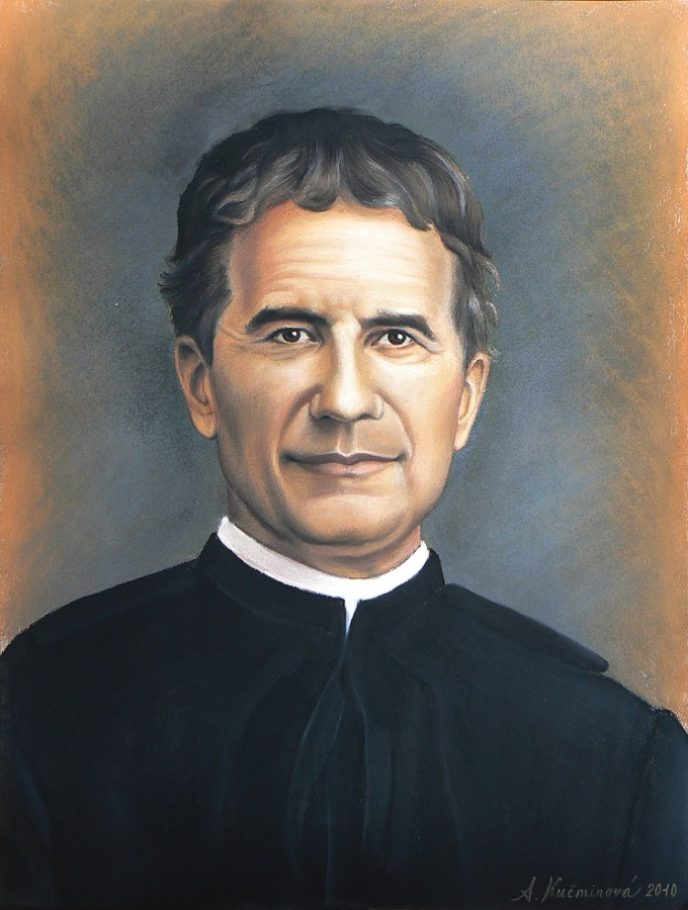 Don Bosco, A2 suchý pastel