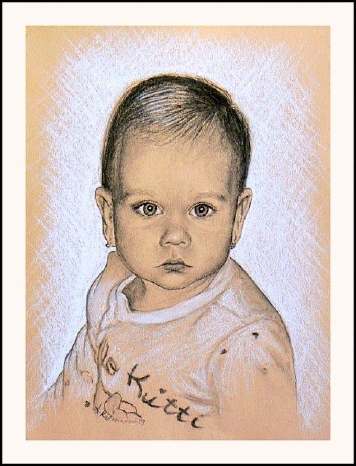 Maľby predaj a tvorba obrazov - PORTRÉTY - DETI ČB