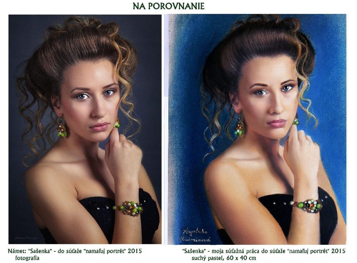 Sašenka na porovnanie FOTO a MAĽBA _