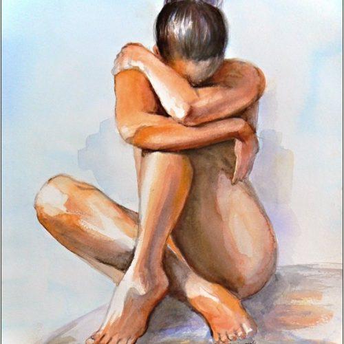 akt-a4-aquarel-tvorba-a-malovanie-podla-zelania